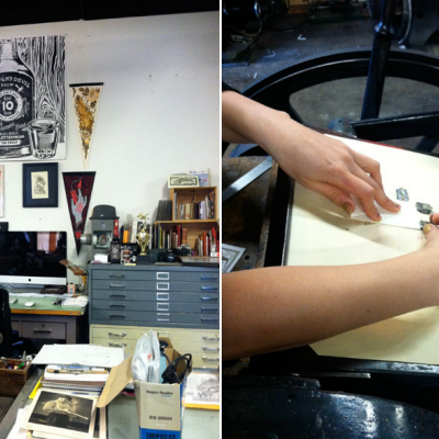 Keeping Letterpress Lively: Studio visit with KeeganMeegan & Co.
