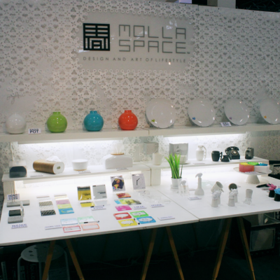 International Home + Housewares Show 2014: Mollaspace Turns Optical Illusions into Functional Products