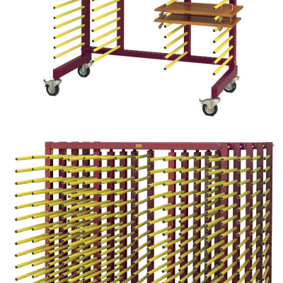 For Furniture Builders: Jowi's Octopus Spray Table and Versatile Storage Trolleys
