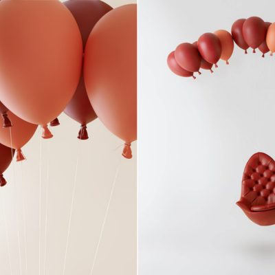 h220430's 'Balloon Chair' Offers an Uplifting Seating Experience