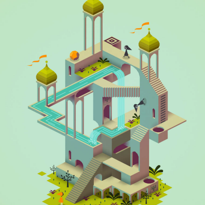 Get Lost in 'Monument Valley,' the M.C. Escher of iPad Games