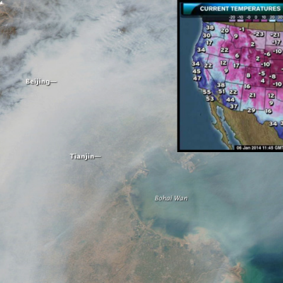 Holy Cow: NASA Says Pollution from Asia is Affecting North American Weather
