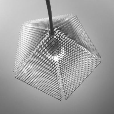 Michiel Cornelissen's 3D-Printed ZooM Lampshade Expands from a Small Build Envelope