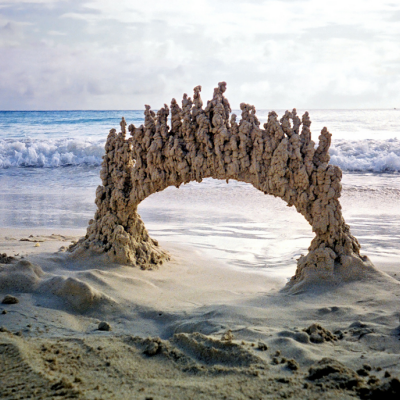 King of the Castle: Drip-Dried Sculptures That Put Your Cookie-Cutter Sand Castles to Shame