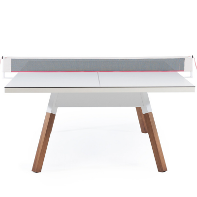 Behold, the Perfect Desk for Working, Dining and Hosting an After Hours Ping Pong Tournament