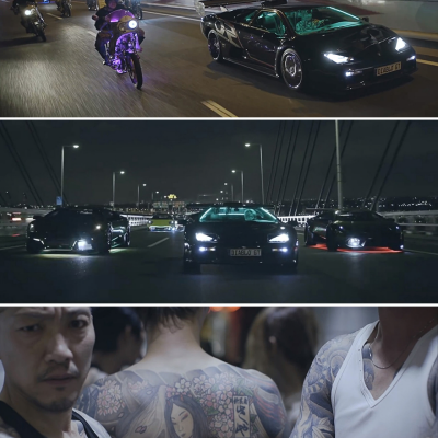 In Tokyo, at the Intersection of Japanese Gangster Culture and Lamborghinis
