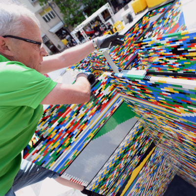 Hungarian Builders Bust the Record for World's Tallest LEGO Tower