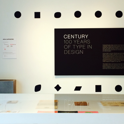 Visit AIGA's 'Century: 100 Years of Type Design' Exhibit Before It Closes Its Doors on July 31
