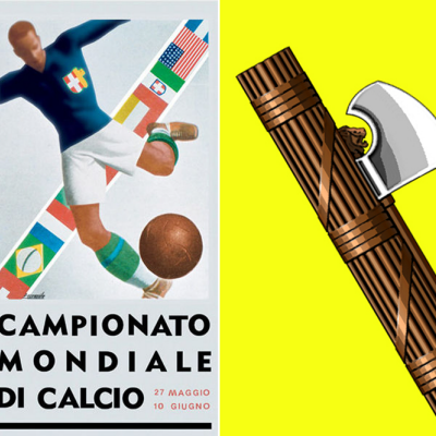 Fascist Symbolism and the Evolution of the Game Ball: 80 Years of World Cup Poster Designs