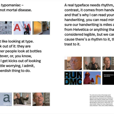 Letters Get Physical: Erik Spiekermann On Letterpress; New Book in August