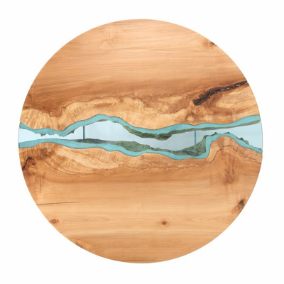 Greg Klassen's Beautiful River Collection Puts the Live Edge on the Inside