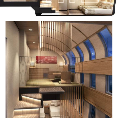 "More ""Designer Trains"" in Japan: Ken Okuyama's Forthcoming Cruise Train"