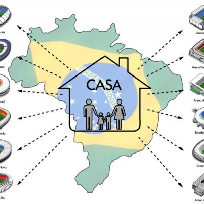 """Casa Futebol"" Concept to Turn World Cup Stadiums into Public Housing"