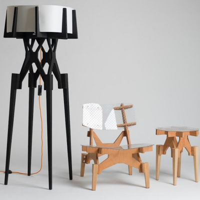 Flotspotting: Puzzle-Inspired Flat-Pack Furniture by Konstantin Achkov