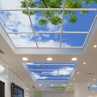 Skylights for Everyone: Productivity-Boosting Optical Illusions for the Office (and Beyond)