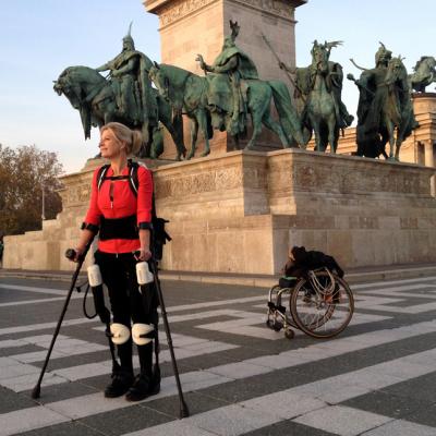 Core77 Design Awards Spotlight: Personal EKSO, an Exoskeleton Designed to Replace the Wheelchair