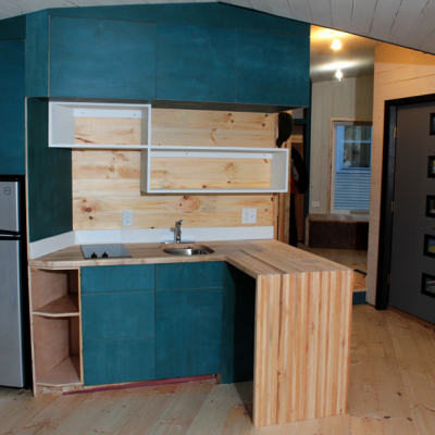 2014 Core77 Design Awards Spotlight: The Carton House Sustainable Mobile Home Offers Lessons in Constraints