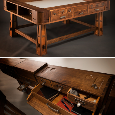 Dungeons, Dragons & Design: Geek Chic's Gorgeous Gaming Tables
