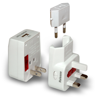 Designing for the Organized Traveller: Chargers & Adapters