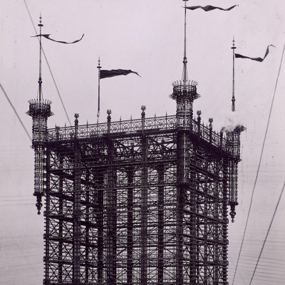 #ThrowbackThursday: Organized Chaos in the Form of One Massive (and Surprisingly Untangled) Telephone Wire Hub