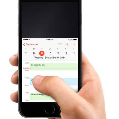 """Mobile Interface Design: """"Thumb Zones"""" for the new iPhones"""