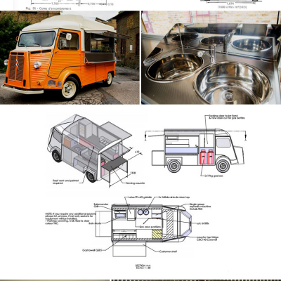 Booze Truck: A Citröen Type H that Comes with an On-Board Bartender