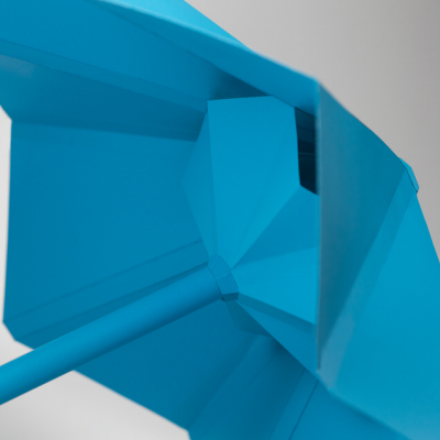 And Now, an Origami-Based Minimalist Umbrella