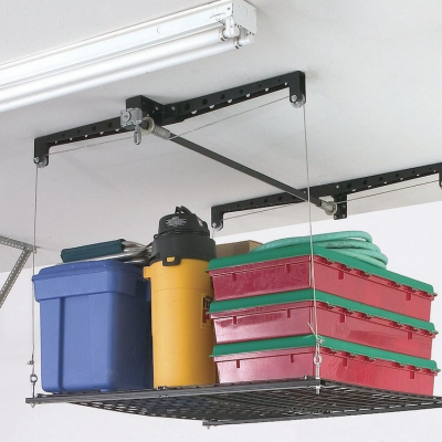 Designing for an Organized Garage, Part 1: Using the Ceiling