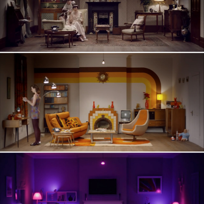 Watch the Living Room Evolve Over 100 Years