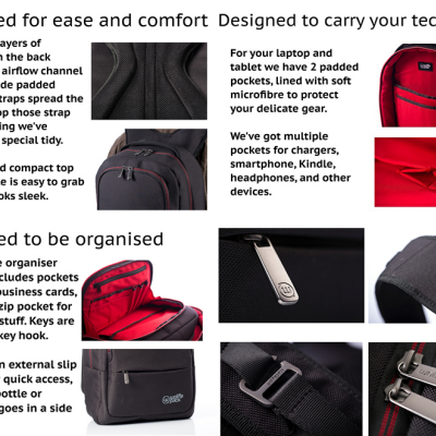 The Wolffepack: A Backpack Designed to Flip Around to the Front!