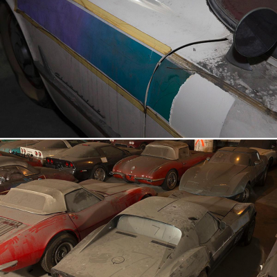 Comprehensive Corvette Collection, Heartbreakingly Rotting Away in NYC, Gets a Second Chance