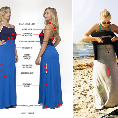 The Undress Allows Women to Change Clothes in Public, Without Exposing Themselves