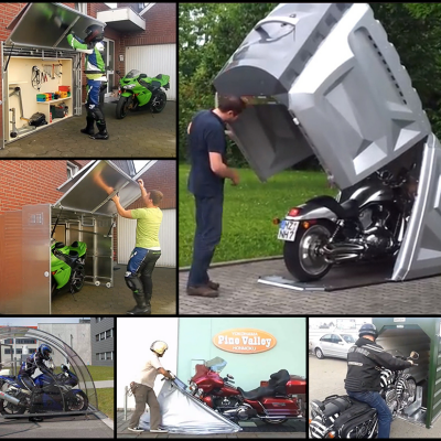 Superbe Motorcycle Storage Designs From Around The World, Part 1: Shelters   Core77