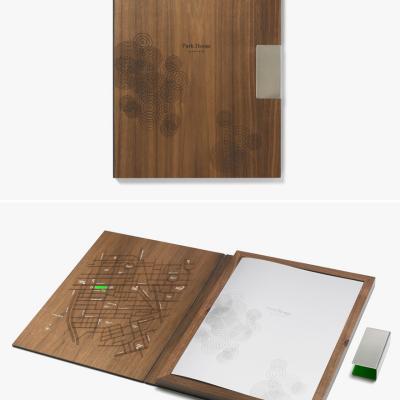Sweet Laser-Etched Wooden Book Enclosure