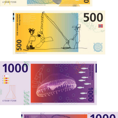 The Best Idea from Norway's Currency Design Competition: Let Kids Design the Money