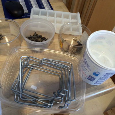 Clever DIY Solution for Sorting Loose Hardware