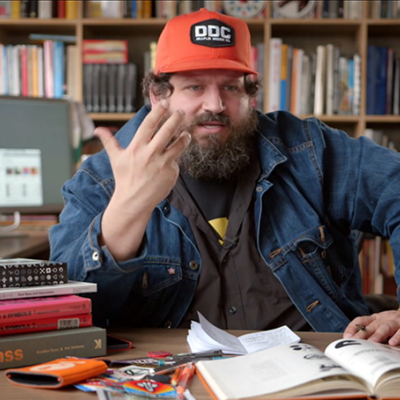 Design Process Revealed: Aaron Draplin Walks You Through a Logo Design