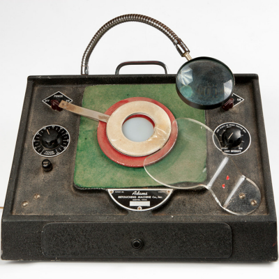 Photoshop, 1940's-Style: The Adams Retouching Machine