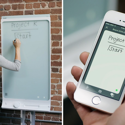 A Dry-Erase Board That Transmits Notes to Your Phone