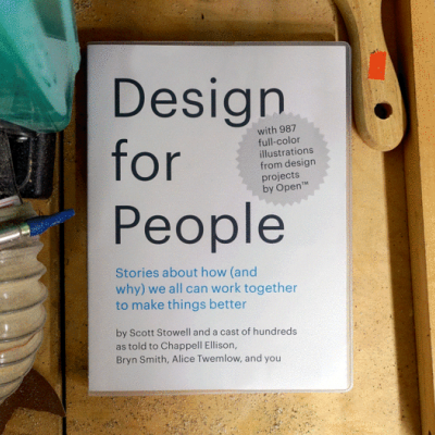 """Only Three Days Left to Kickstart """"Design for People""""!"""