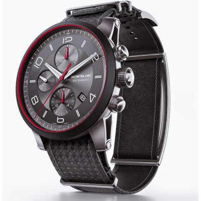 Montblanc's Approach to the Smartwatch: Move the Screen to the Other Side of the Wrist