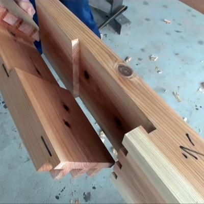 Japanese Master Craftsmen Dry Fitting Huge, Insanely Complicated Wood Joints - Core77