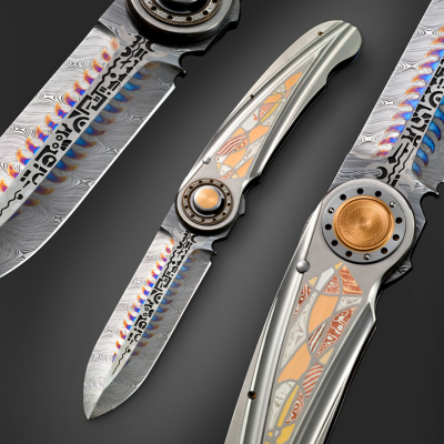 Ex-Jewelrymaker Michael Walker's Awesome Art Knives