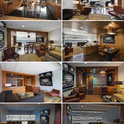 Inside the Parts of the Stadium You Never Get to See: Luxury Boxes