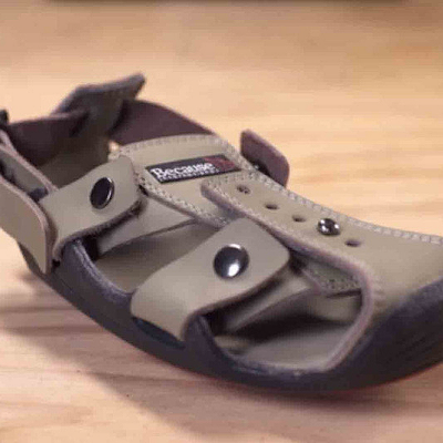 Inexpensive, Durable Shoes Designed to Grow Along with the Child