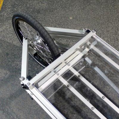 Modular Cargo Bikes with Unusual Steering Mechanisms