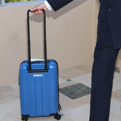 Exciting New Air Travel Proposal to Make Us All Buy Smaller Carry-On Bags!