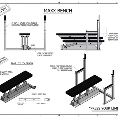 Engineer Uses Hydraulics to Develop a Safer Weightlifting Bench