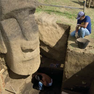 Those Easter Island Statues Aren't Just Heads, They Have Bodies That are Buried Underground