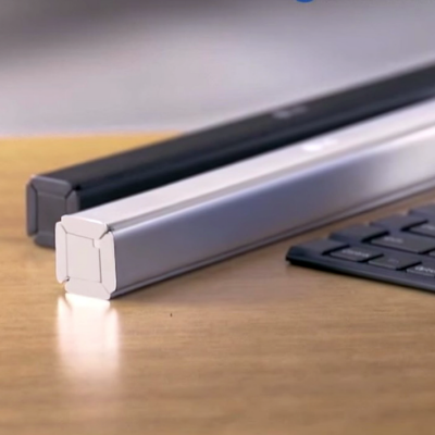 LG Rethinks Design of Roll-Up Keyboard by Going Solid Rather Than Flexible